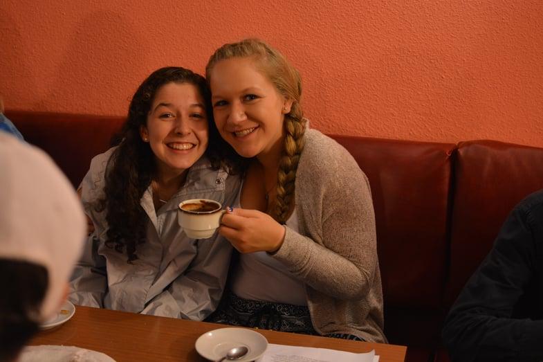 Chocolate con churros en Segovia