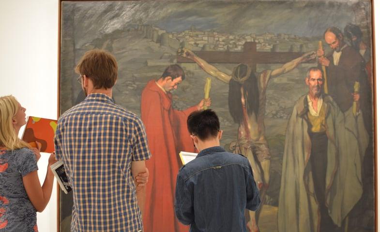 Visit to Reina Sofía museum in Madrid