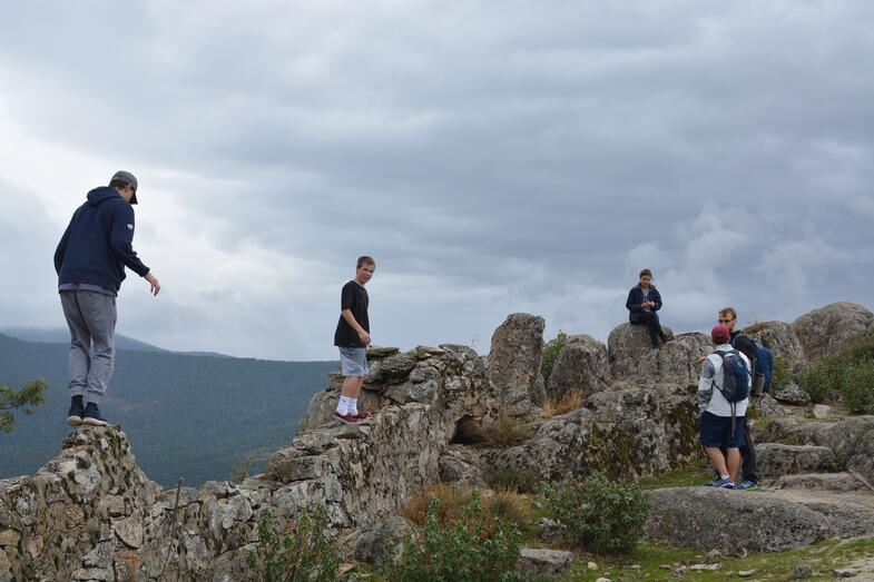 Proctor en Segovia visits Spanish Civil War battle site