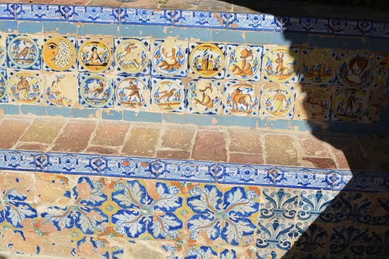 Proctor en Segovia visits the Alcázar de Sevilla!