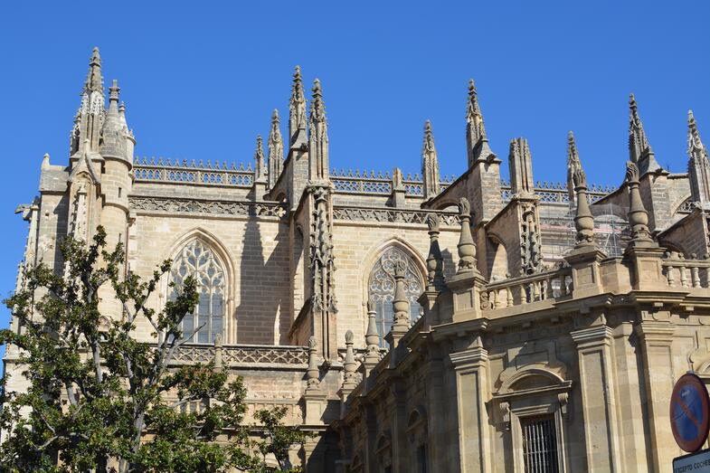 Proctor en Segovia visits the Gothic cathedral of Sevilla.