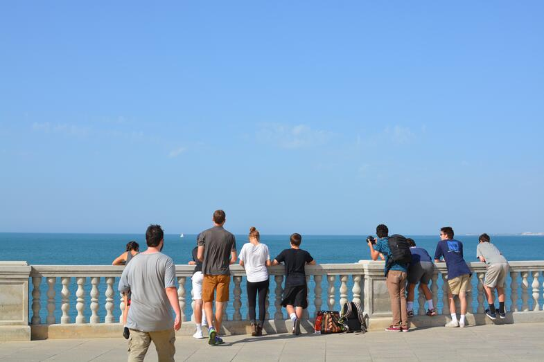 Proctor en Segovia visits Cádiz