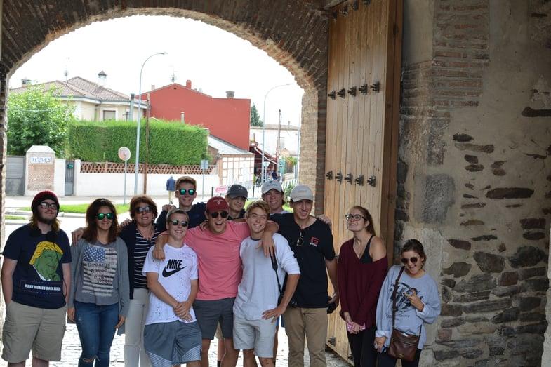 Proctor en Segovia visits Coca