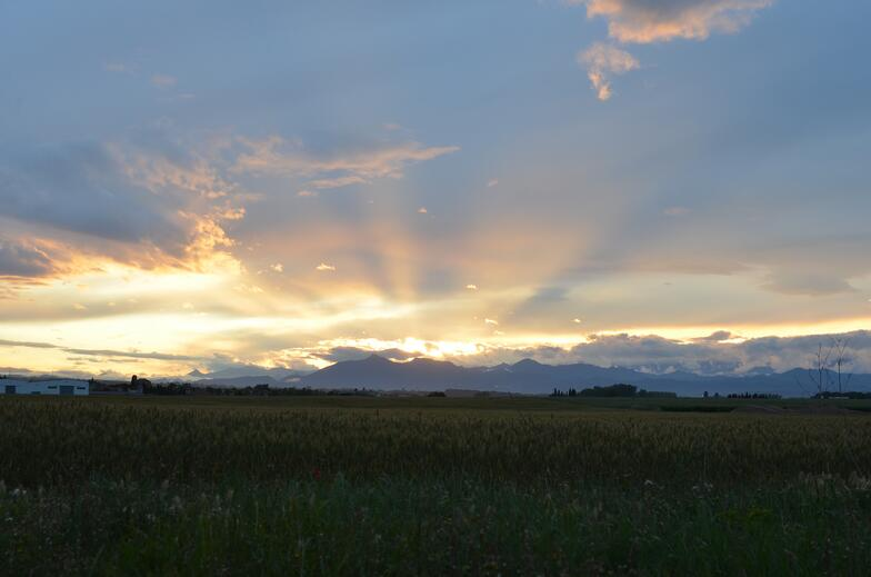 Near our rented house in beautiful Girona province