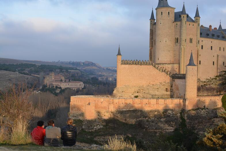 Proctor en Segovia photography afternoon activity walk