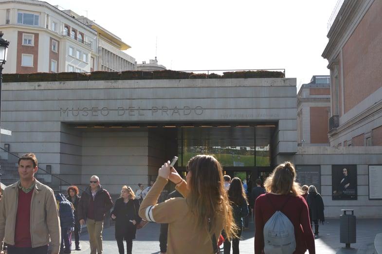 Proctor en Segovia visits the Prado museum