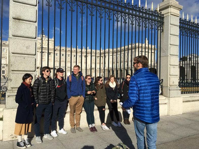 Proctor en Segovia visits the Palacio Real of Madrid