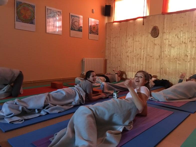 Proctor en Segovia yoga afternoon activity