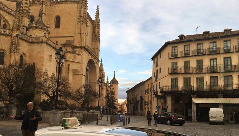 Segovia's Plaza Mayor