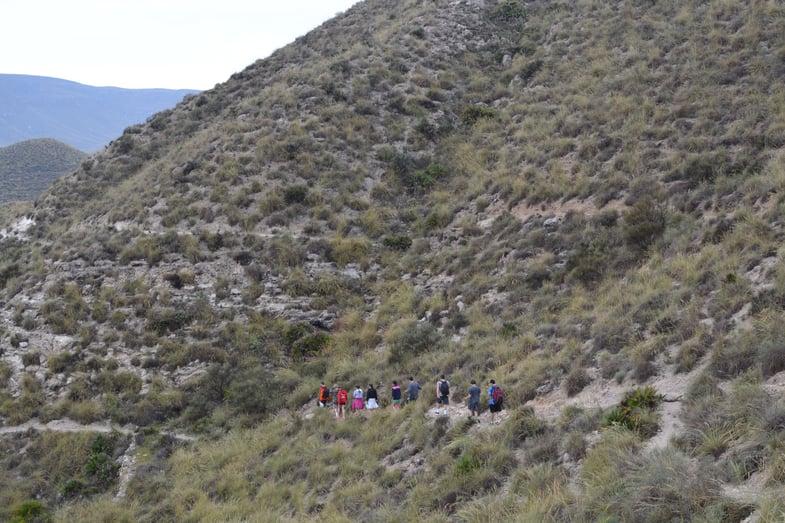 Proctor en Segovia travels to Almería province in Andalucía