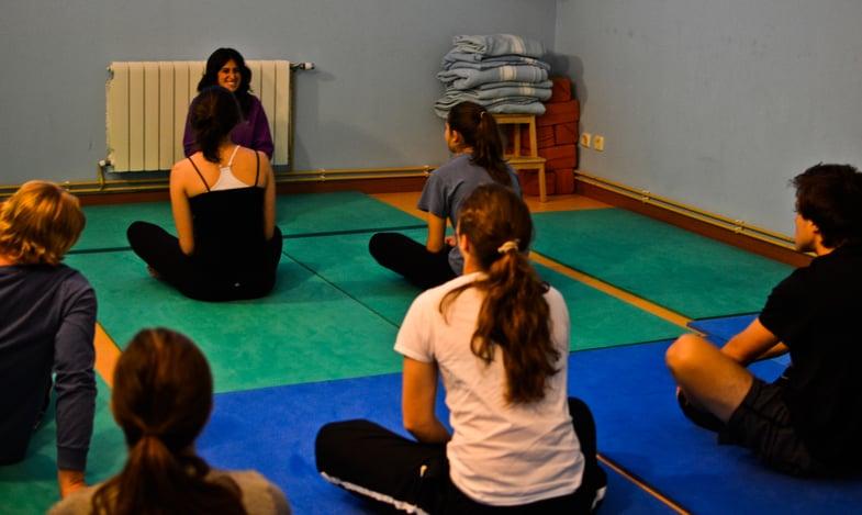 Proctor en Segovia afternoon activity yoga