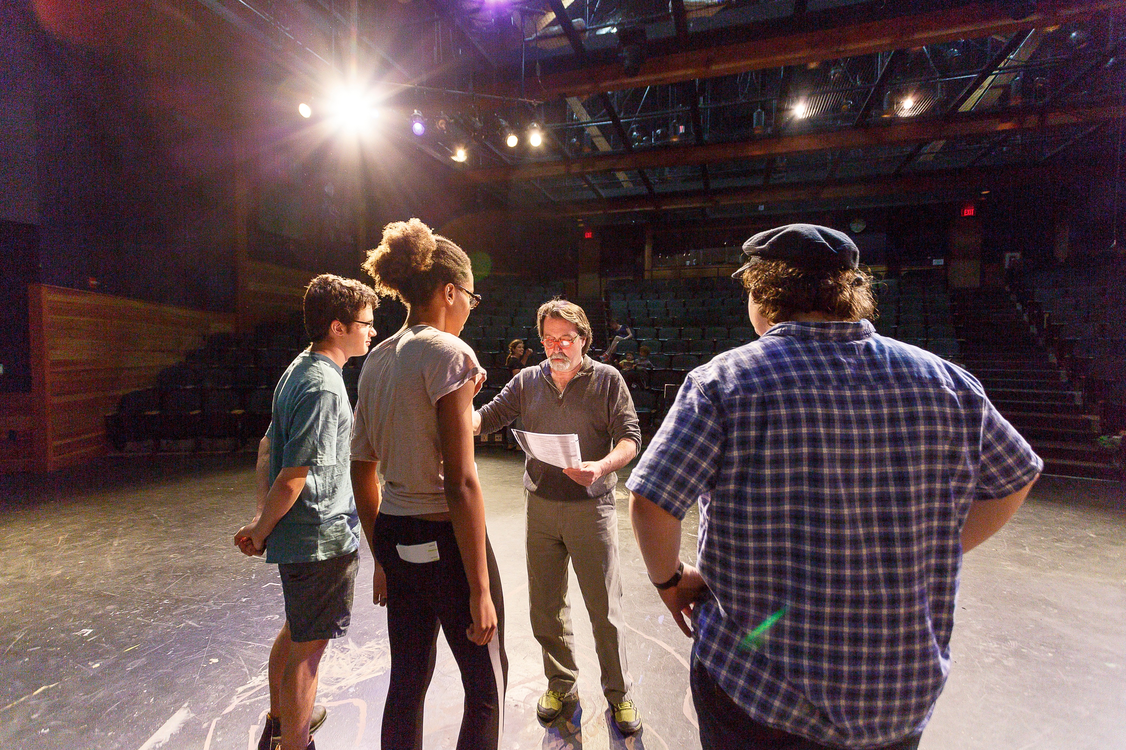 Proctor Academy theater