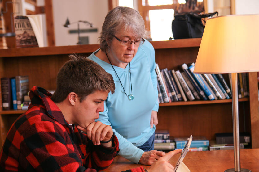 Proctor Academy Lovejoy Library