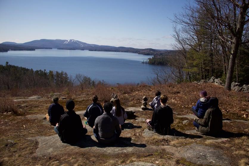 Proctor Academy boarding school mindfulness