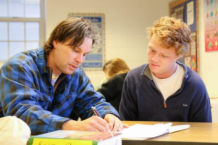 Proctor Academy Academic Model Classroom