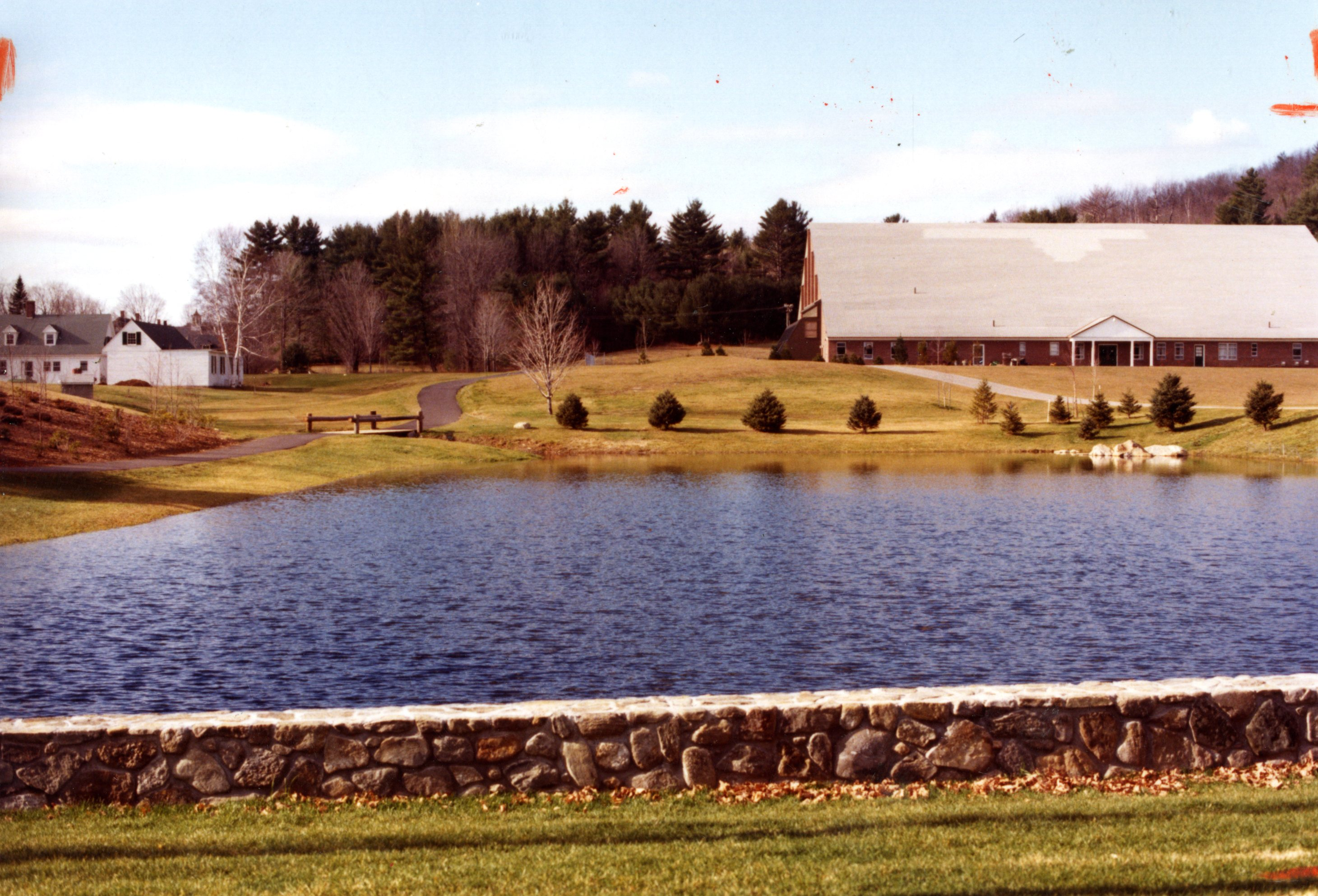 Pond field house