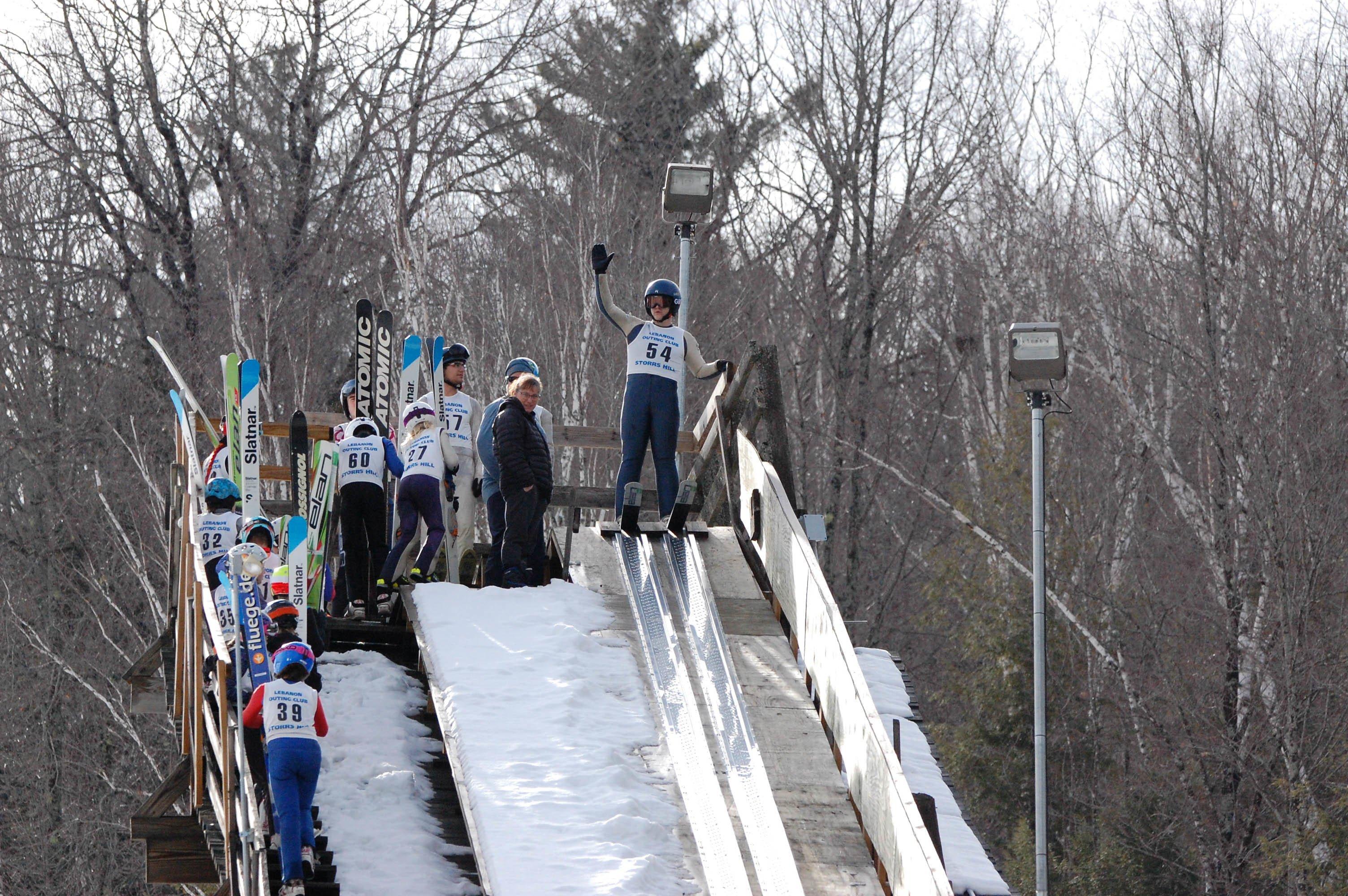 Proctor Academy Ski Jumping Athletics