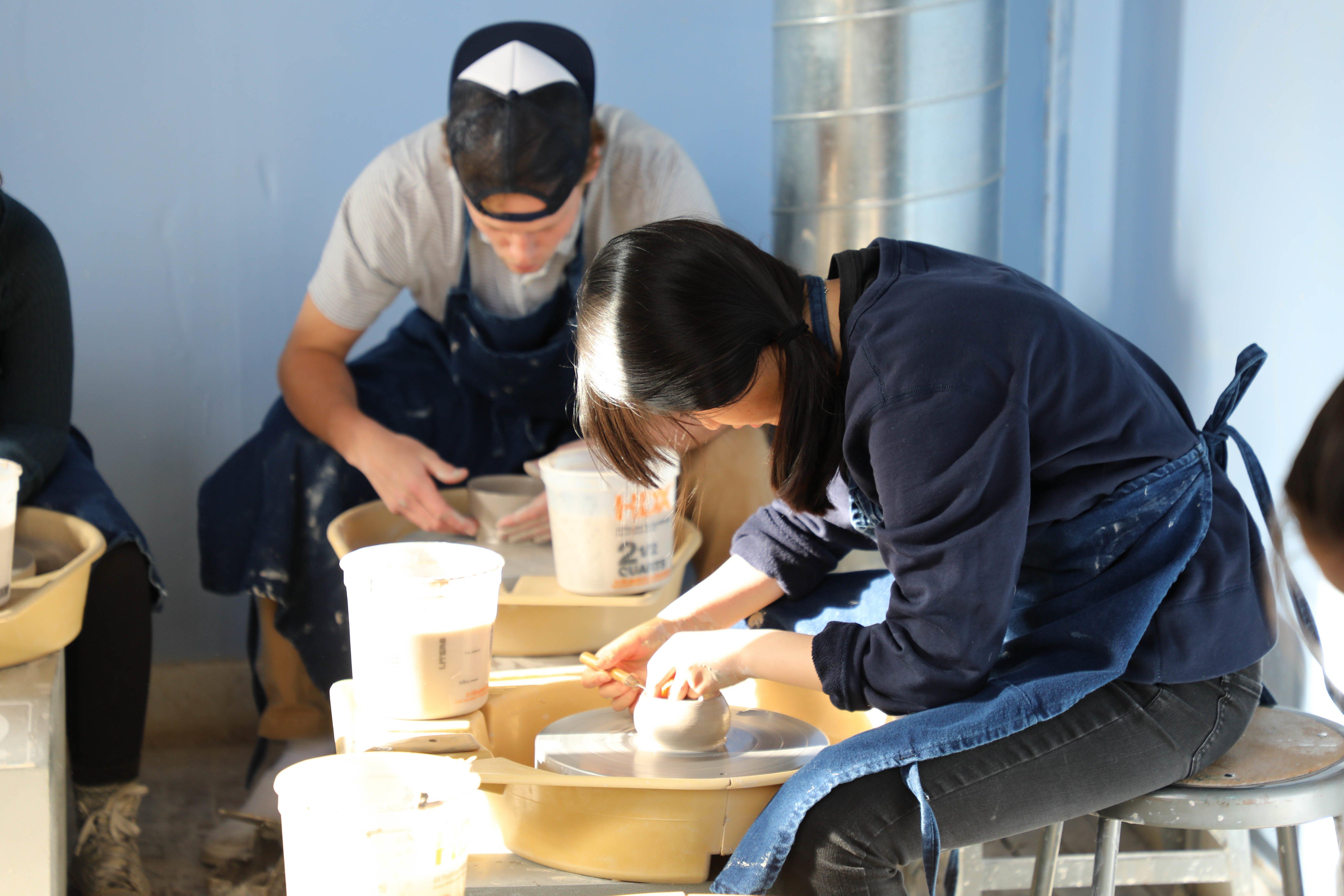 Proctor Academy Boarding Prep School New England Arts Ceramics