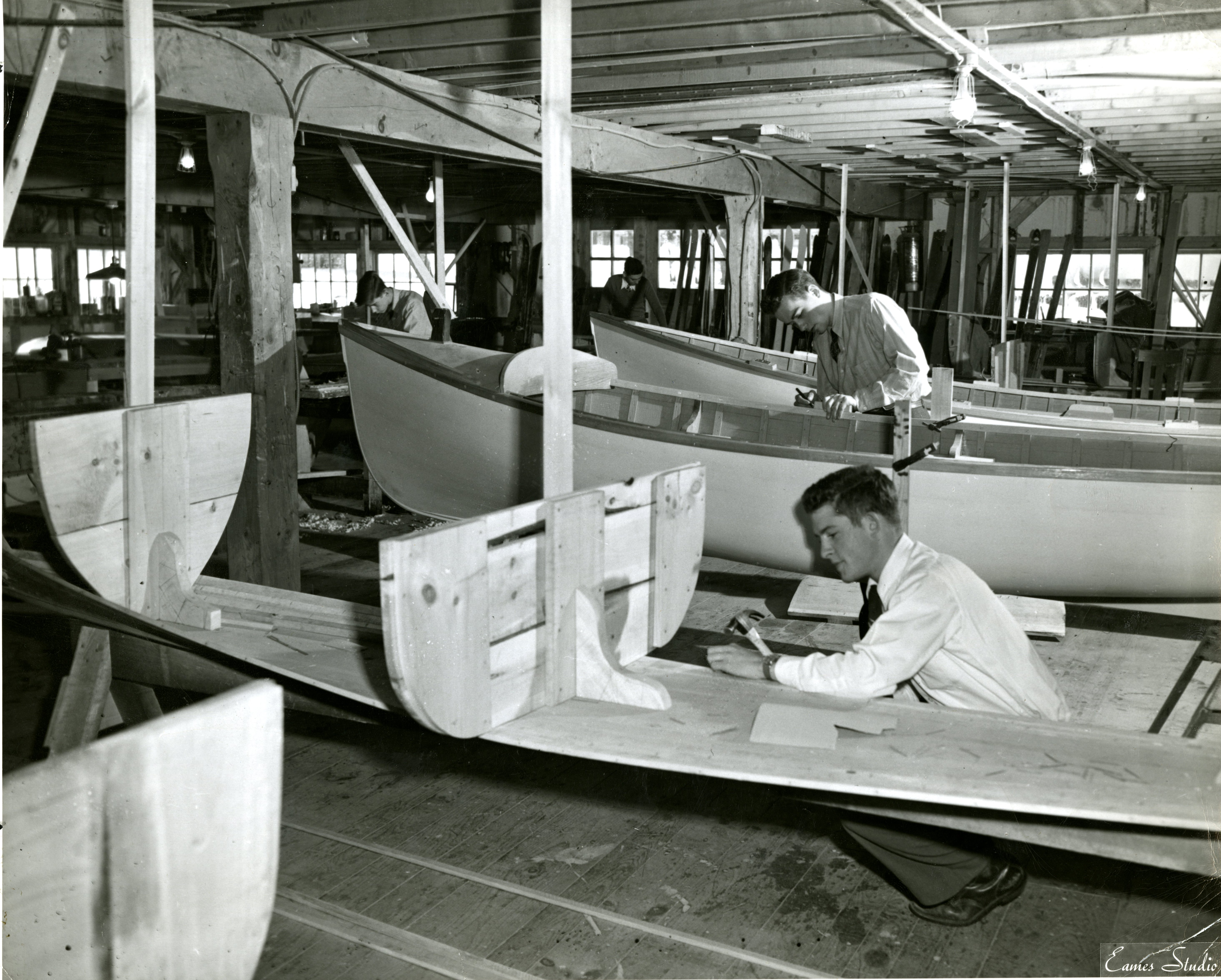 Proctor Academy Boat Building