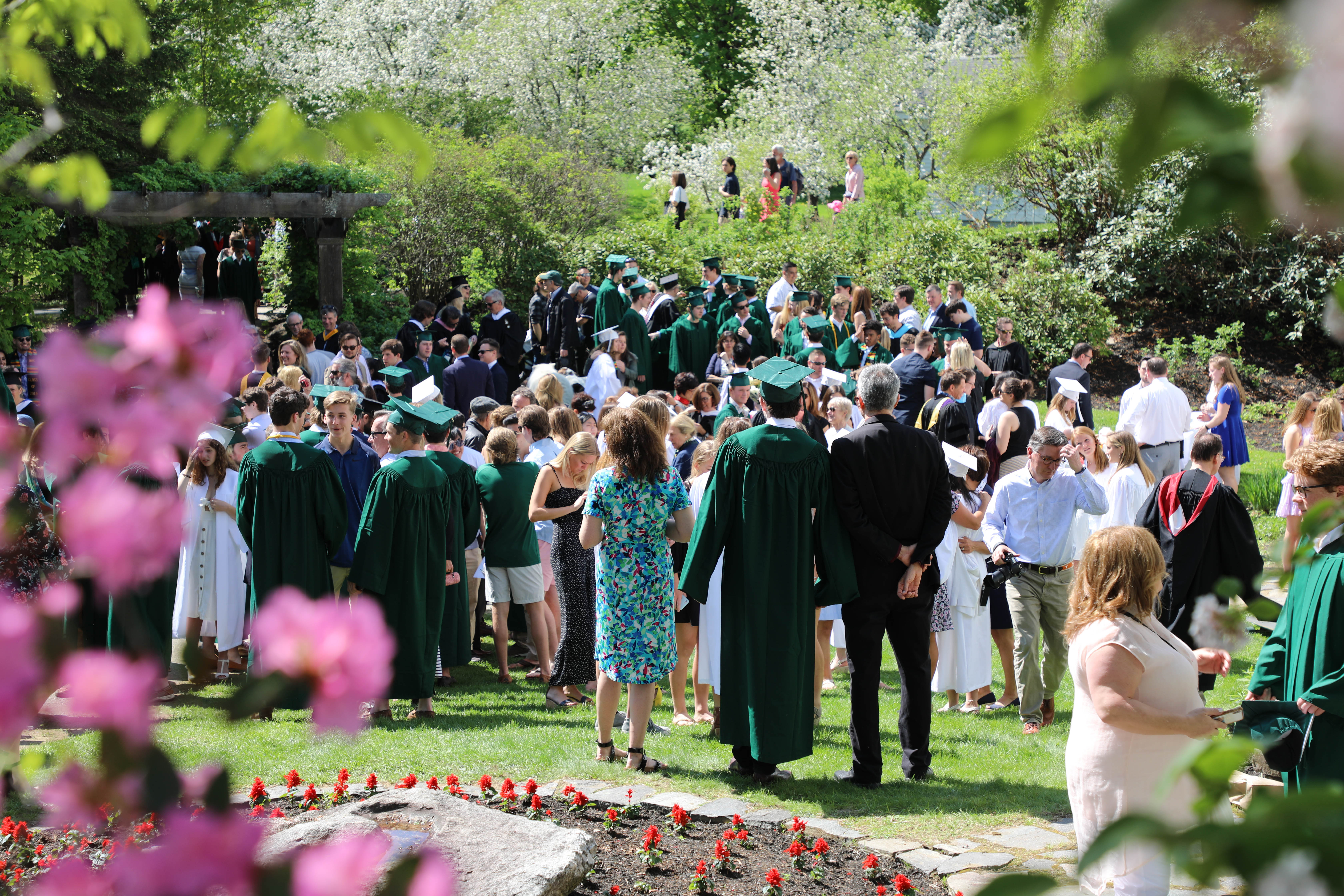 Proctor Academy 2019 graduation