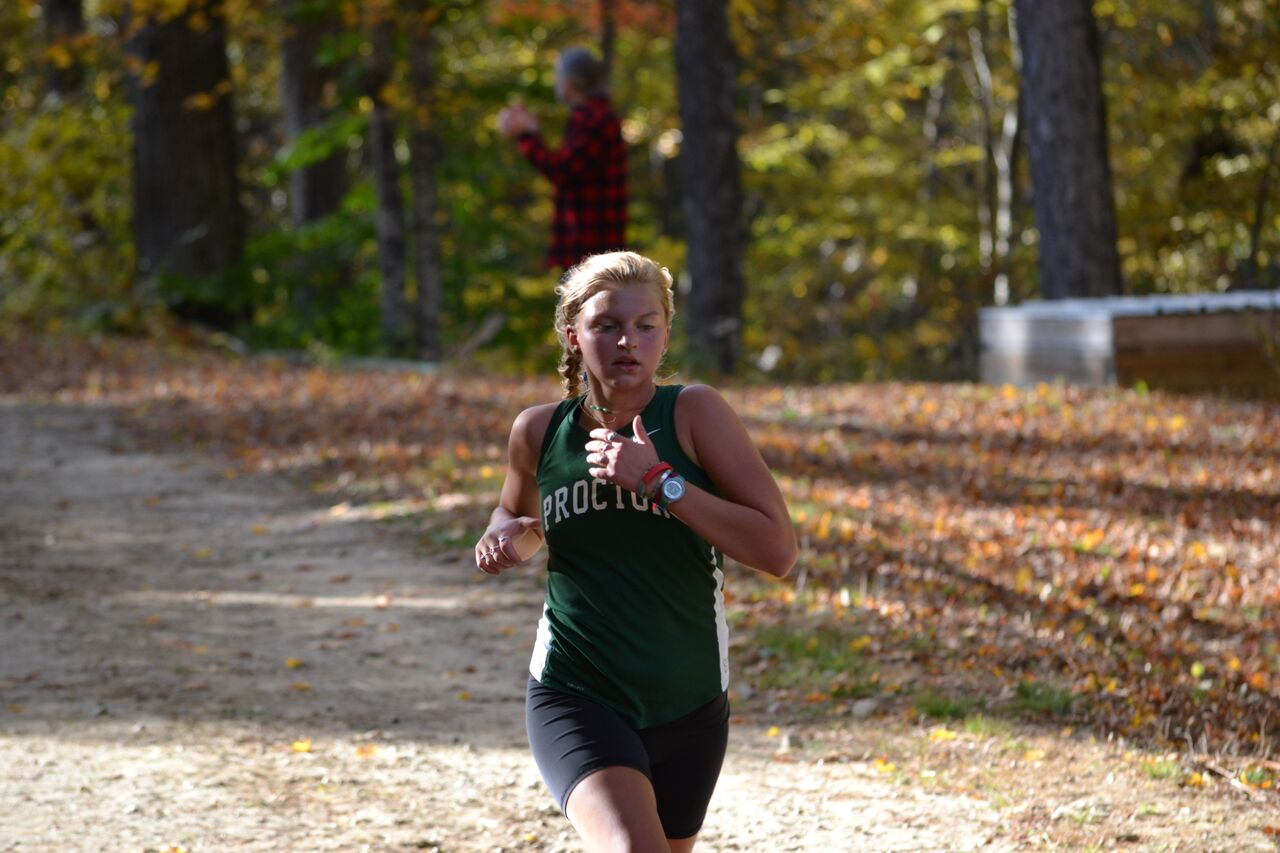 Proctor Academy cross country