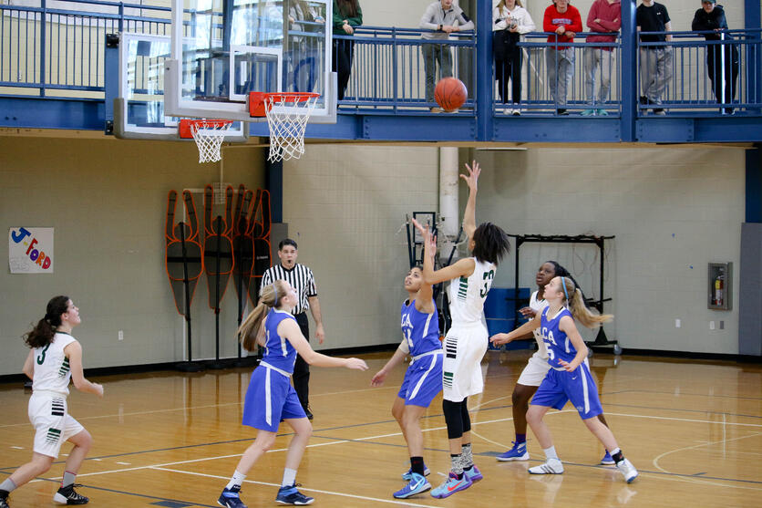 Proctor Academy girls basketball nepsac championship