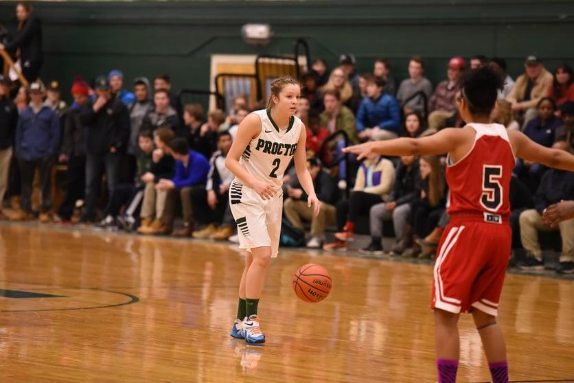 Proctor Academy girls nepsac basketball