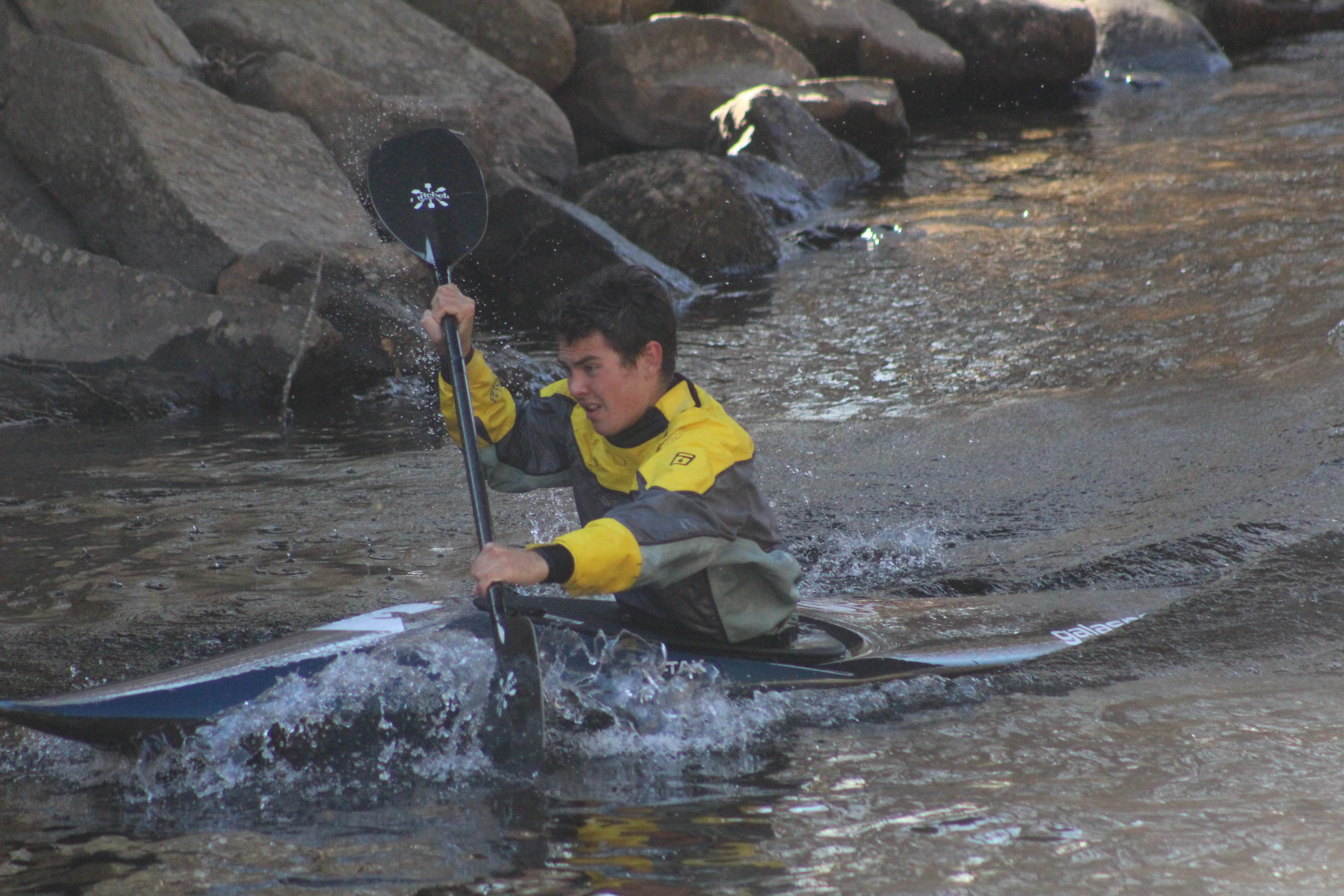 Proctor Academy kayaking