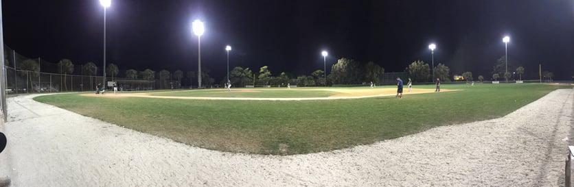 Proctor Academy Baseball spring training