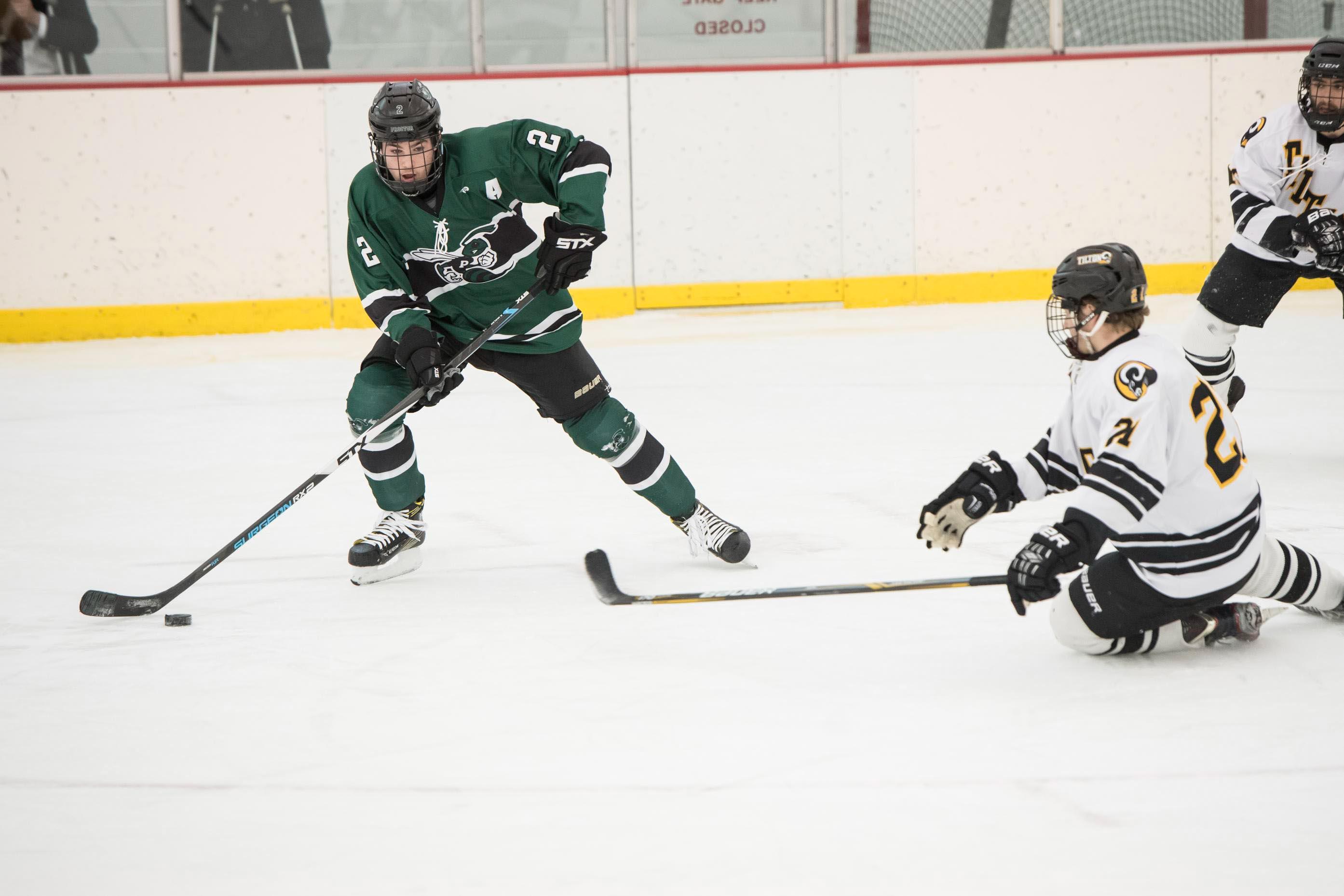 Proctor Academy Athletics hockey boarding school new england