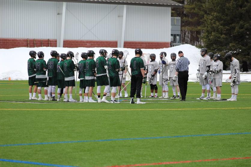Proctor Academy boys varsity lacrosse boarding school new hampshire
