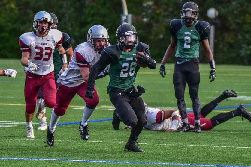 Proctor Academy Boarding School Athletics Football