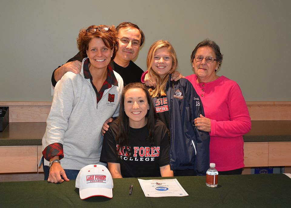 family pic on signing day