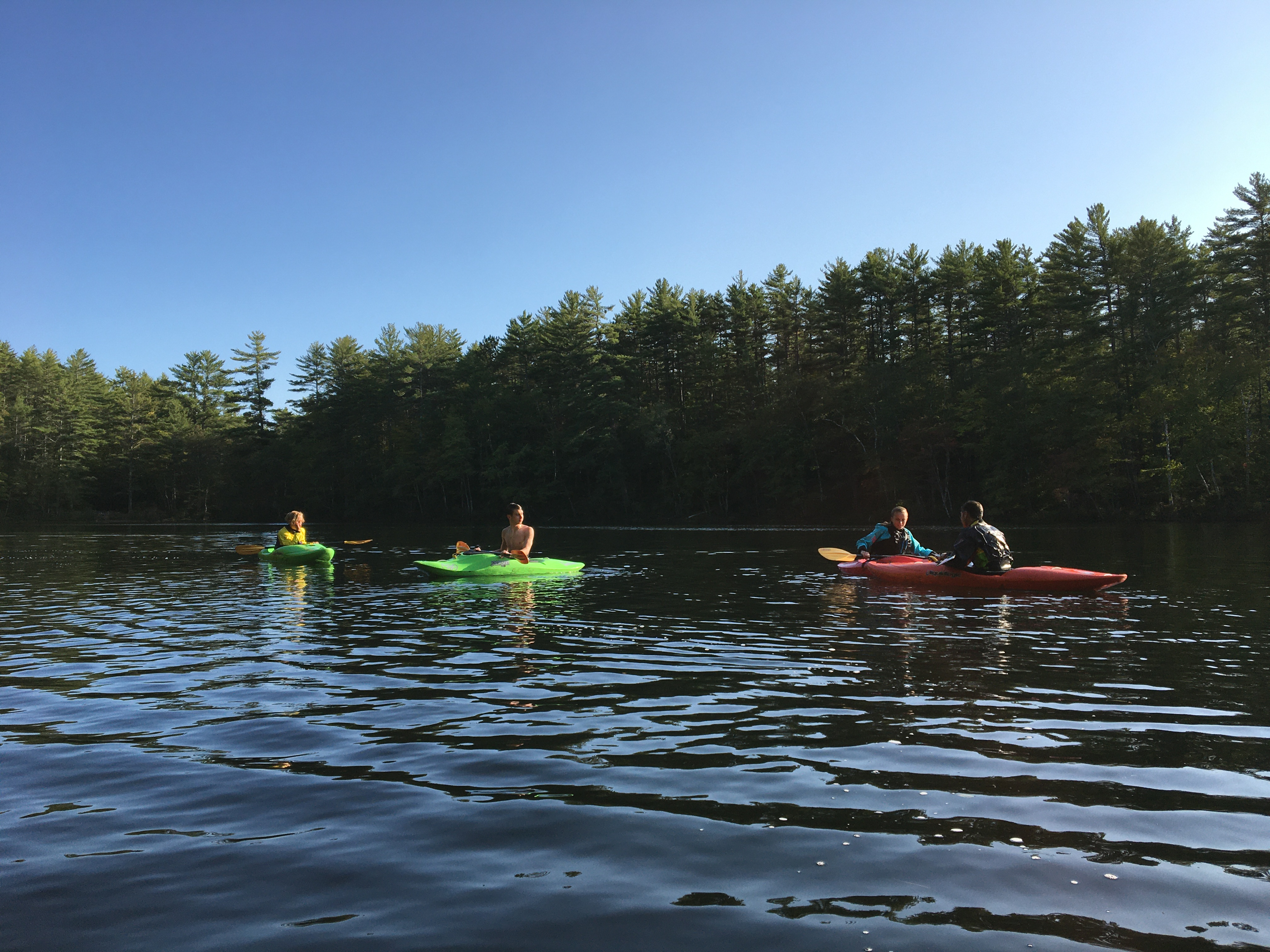 Proctor Academy Athletics Kayaking