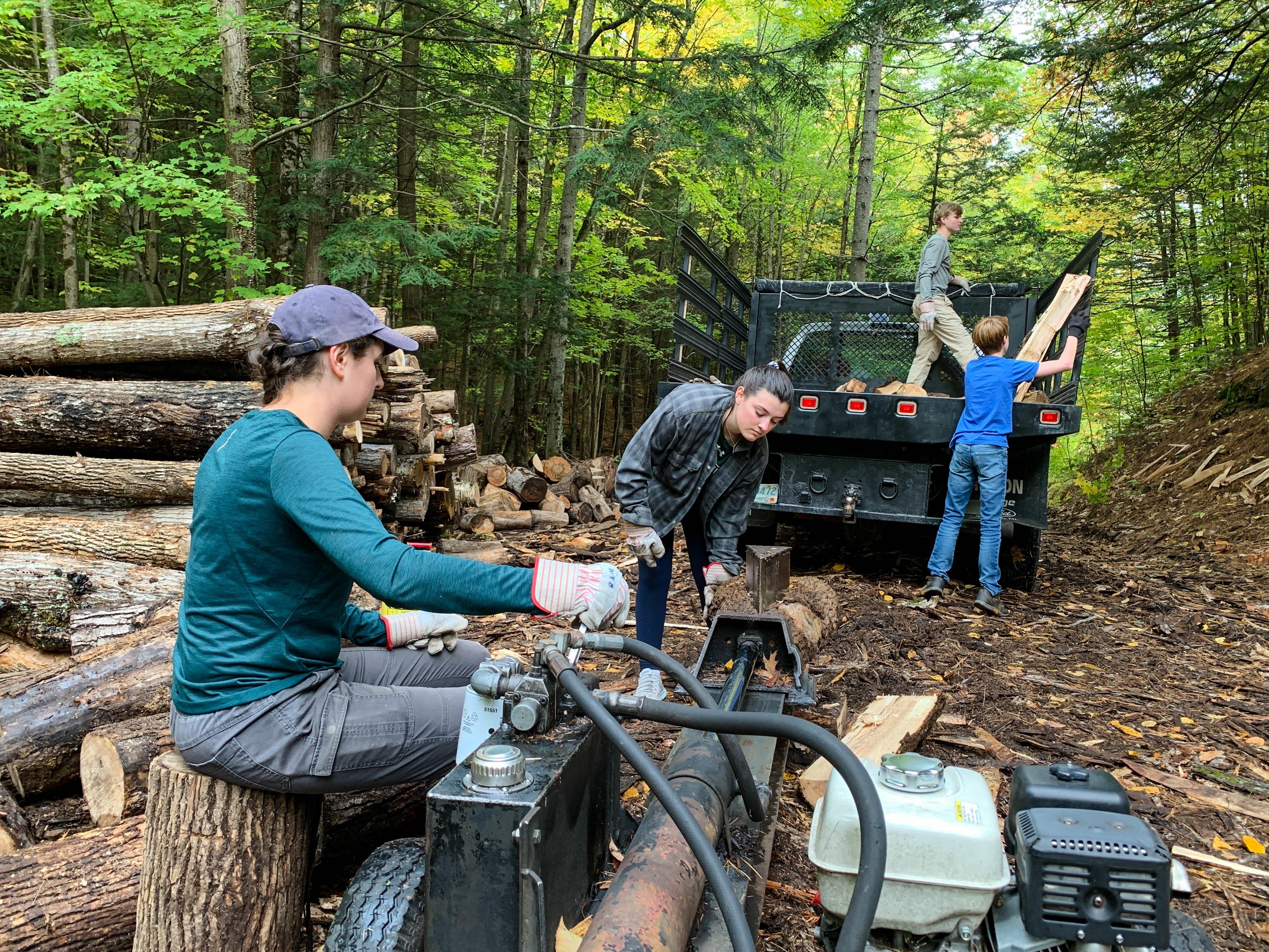 Proctor Academy Woodlands Woods Team Activity