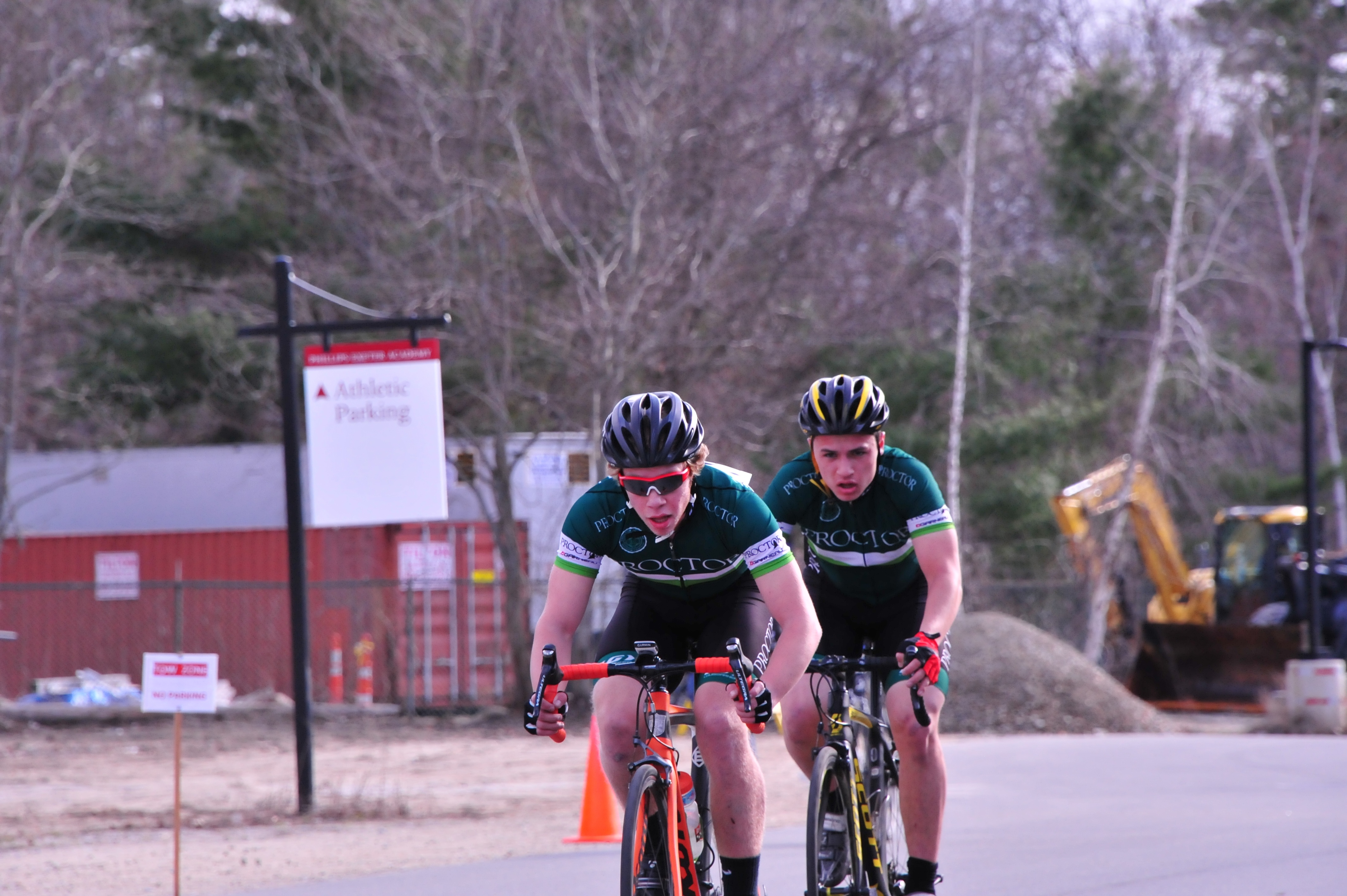 Proctor Academy cycling
