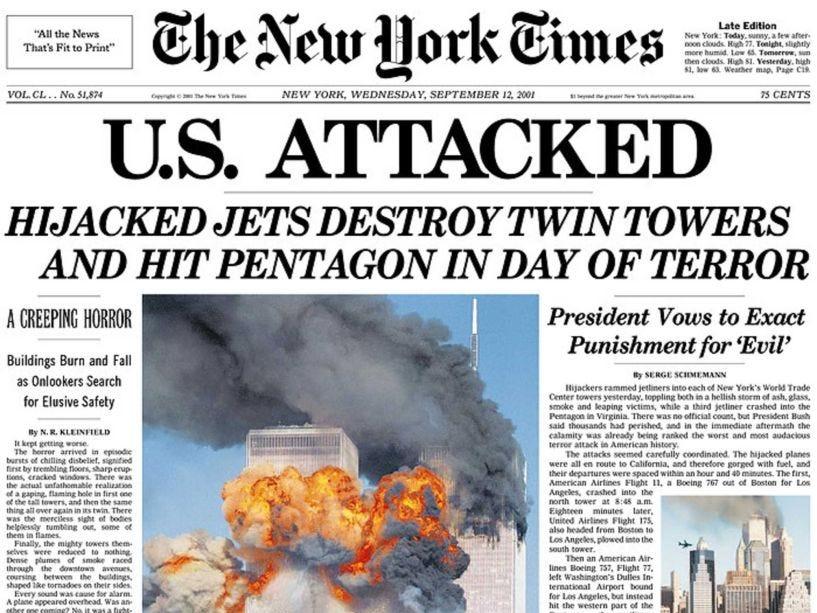 NY Times 2001
