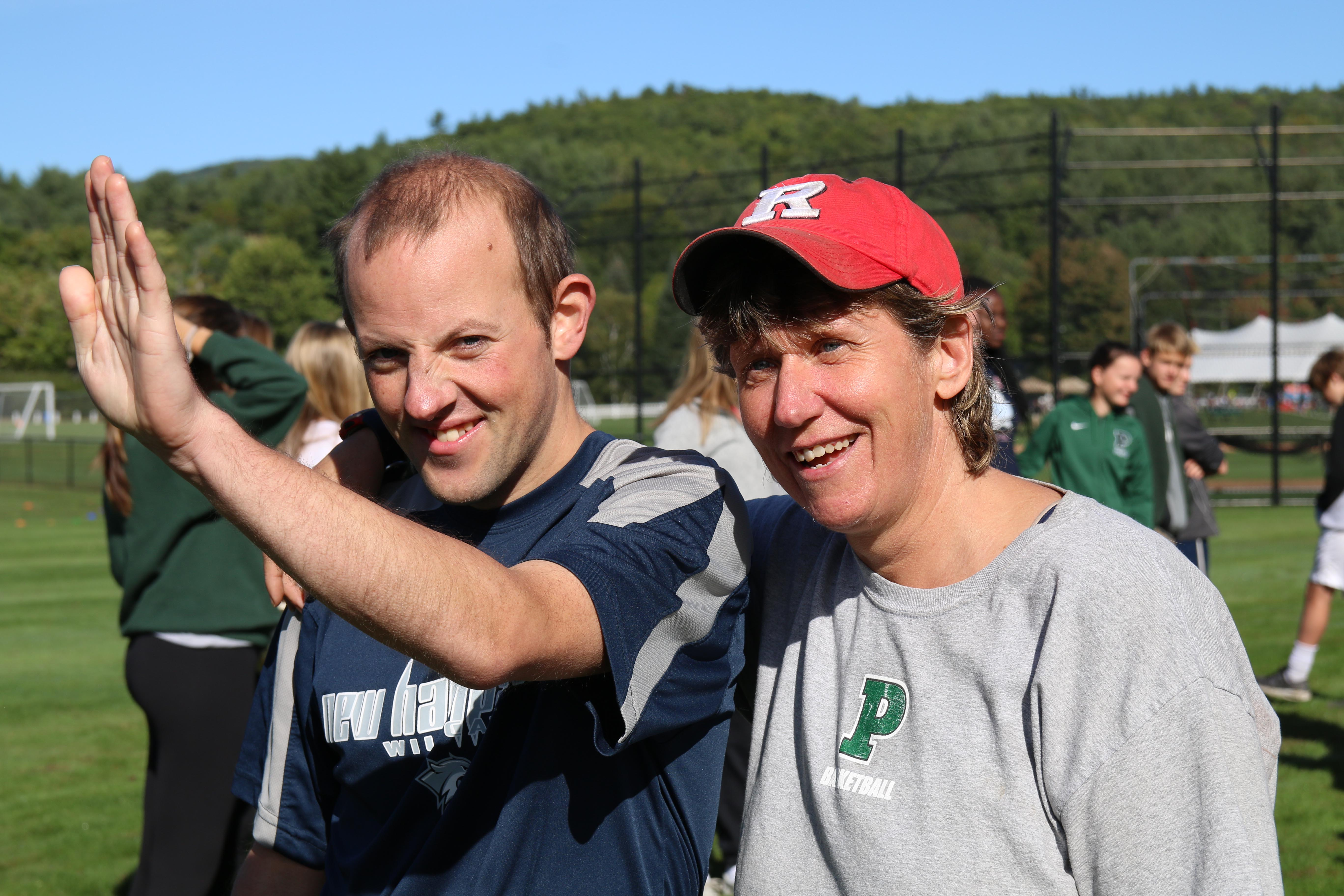 Proctor Academy Special Olympics Rail Trail Rally