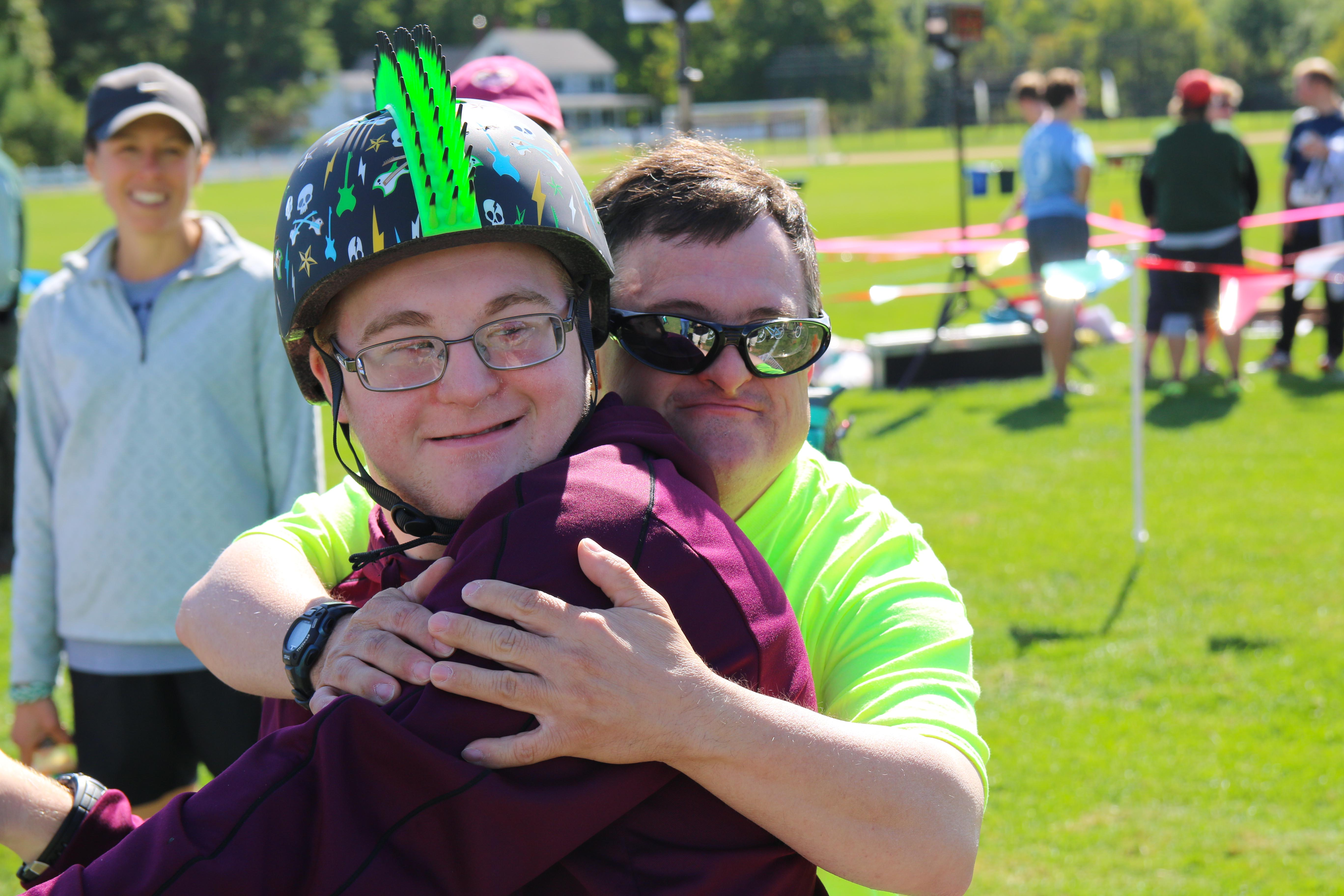 Proctor Academy Special Olympics Rail Trail Rally