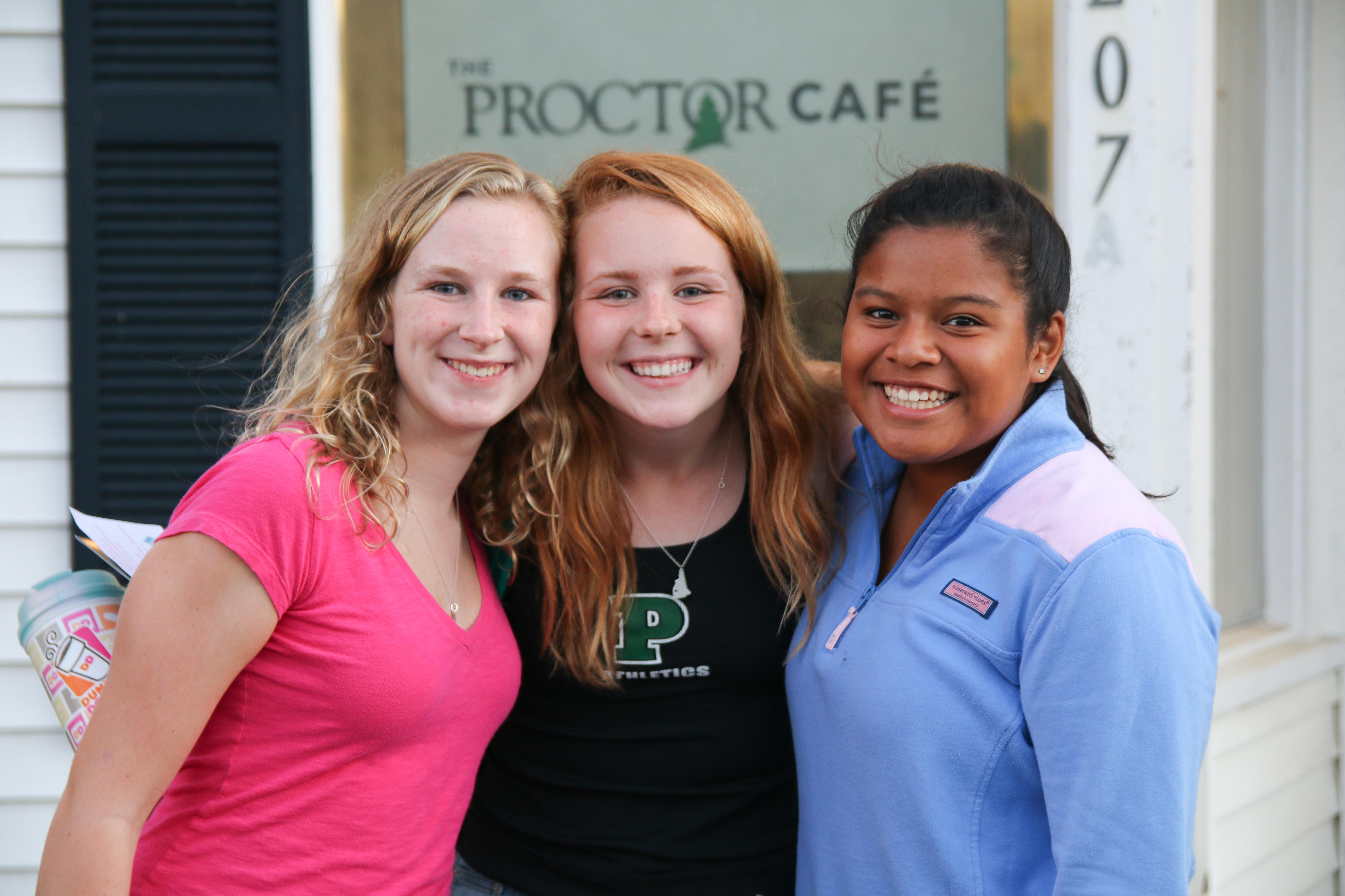 Proctor Academy no more campaign
