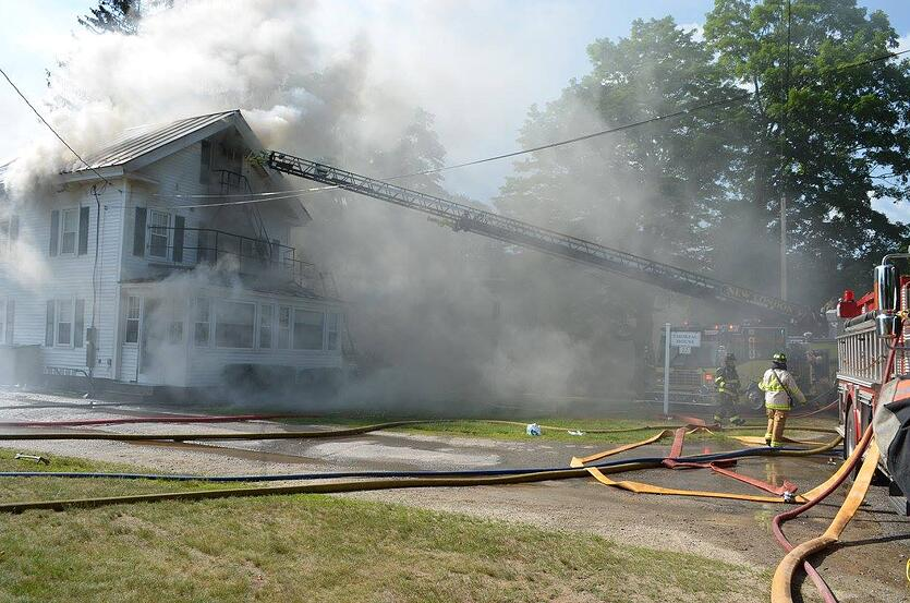 Proctor Academy Thoreau House Fire