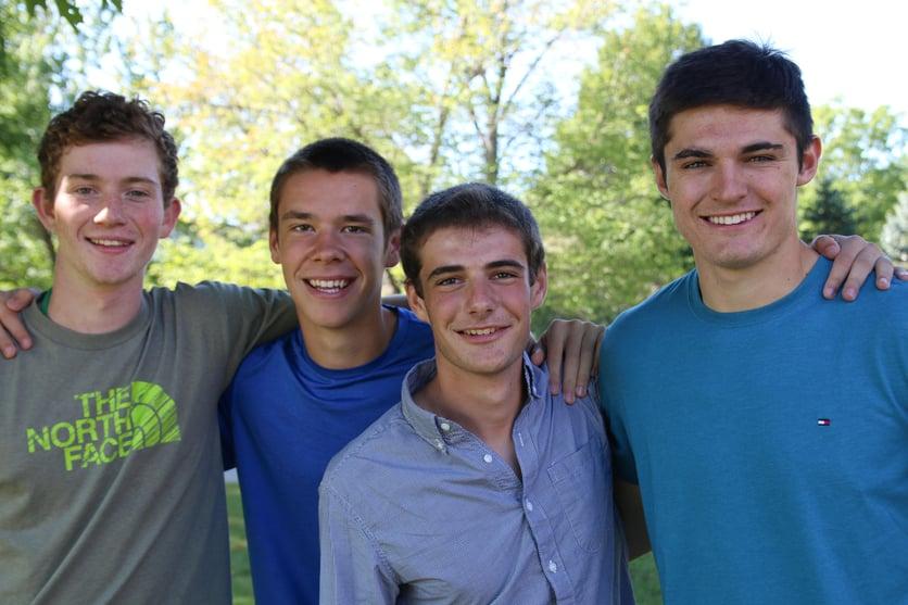 Proctor Academy students