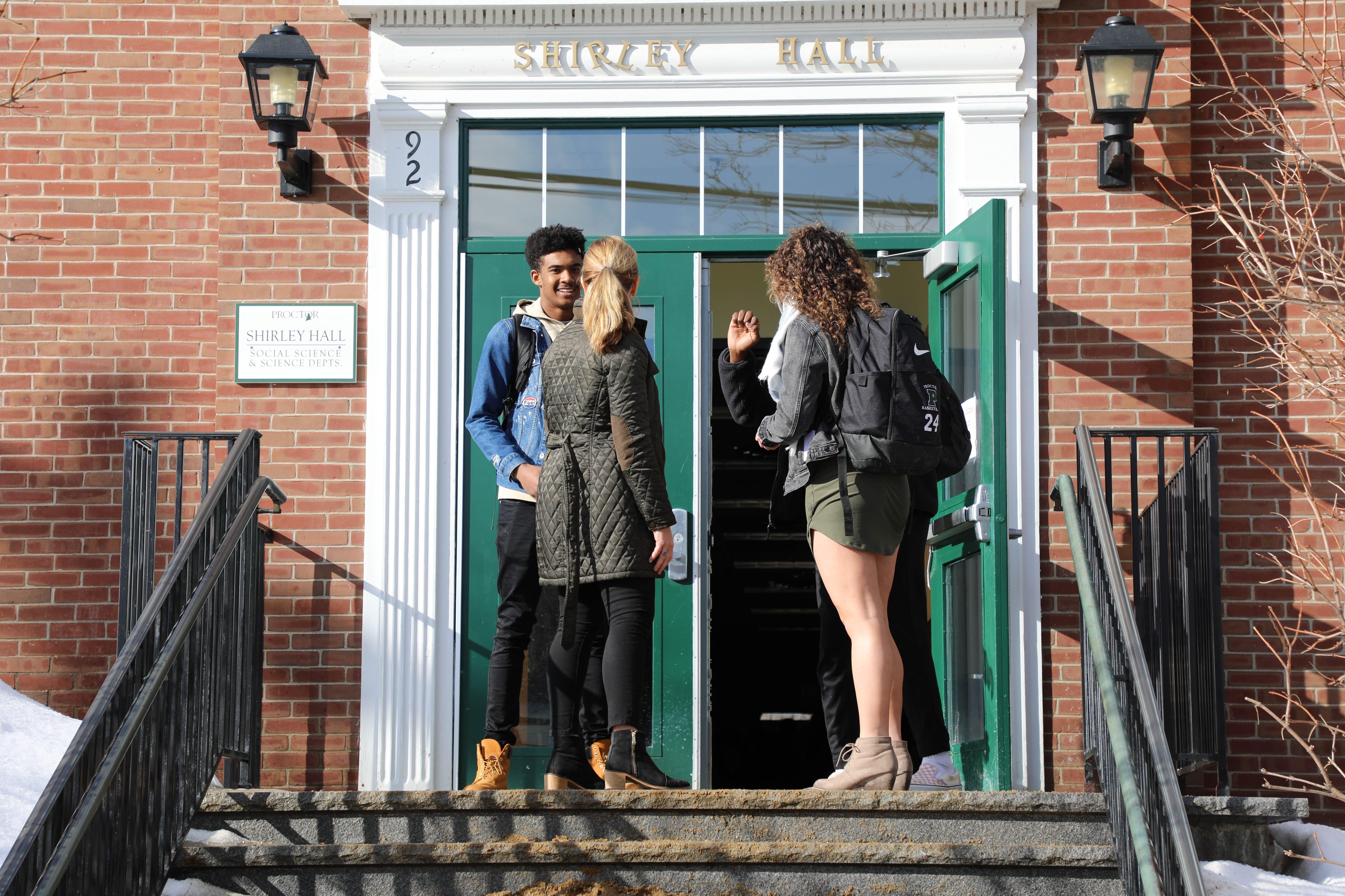 Proctor Academy educational model boarding school new england