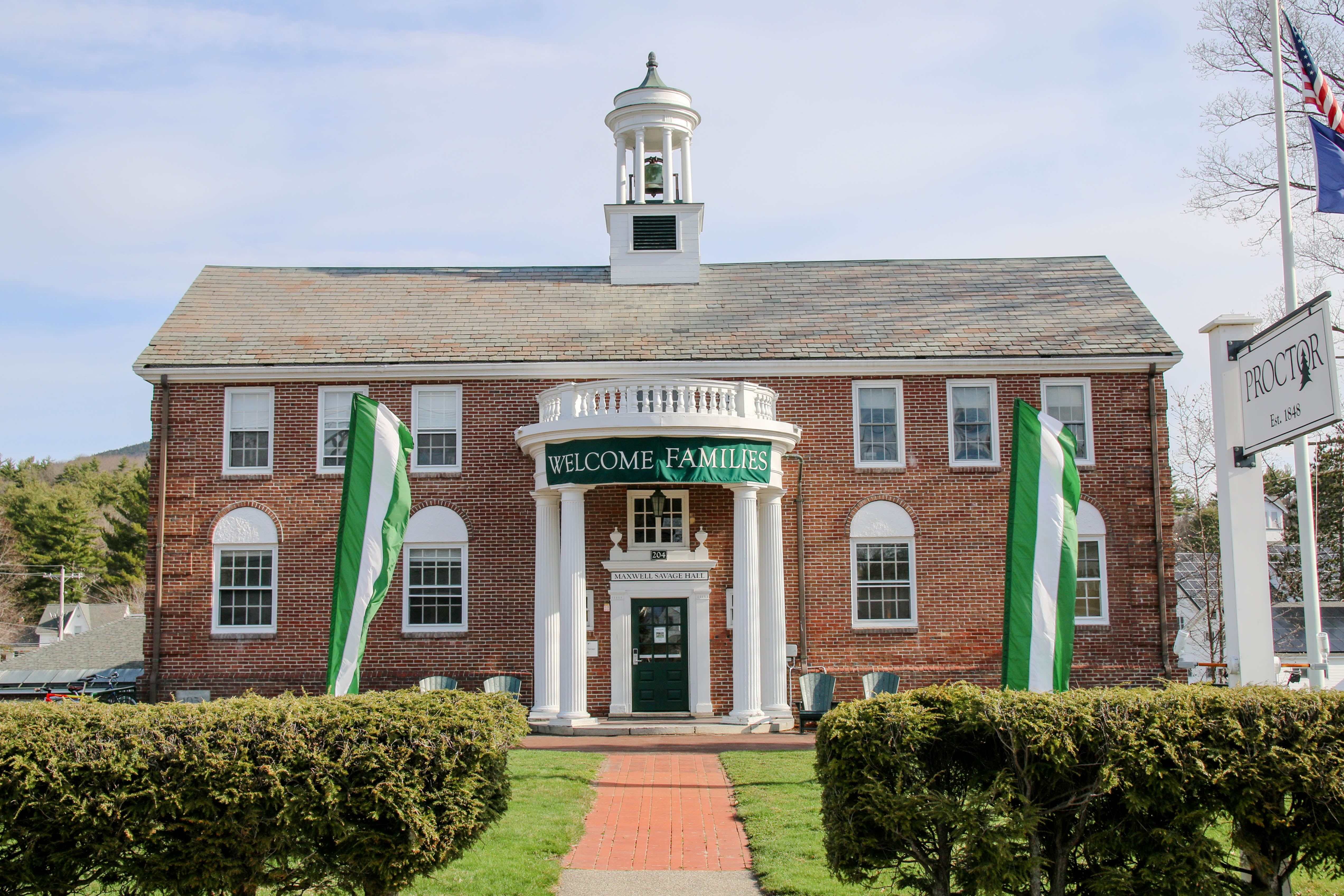 Proctor Academy Spring Family Weekend
