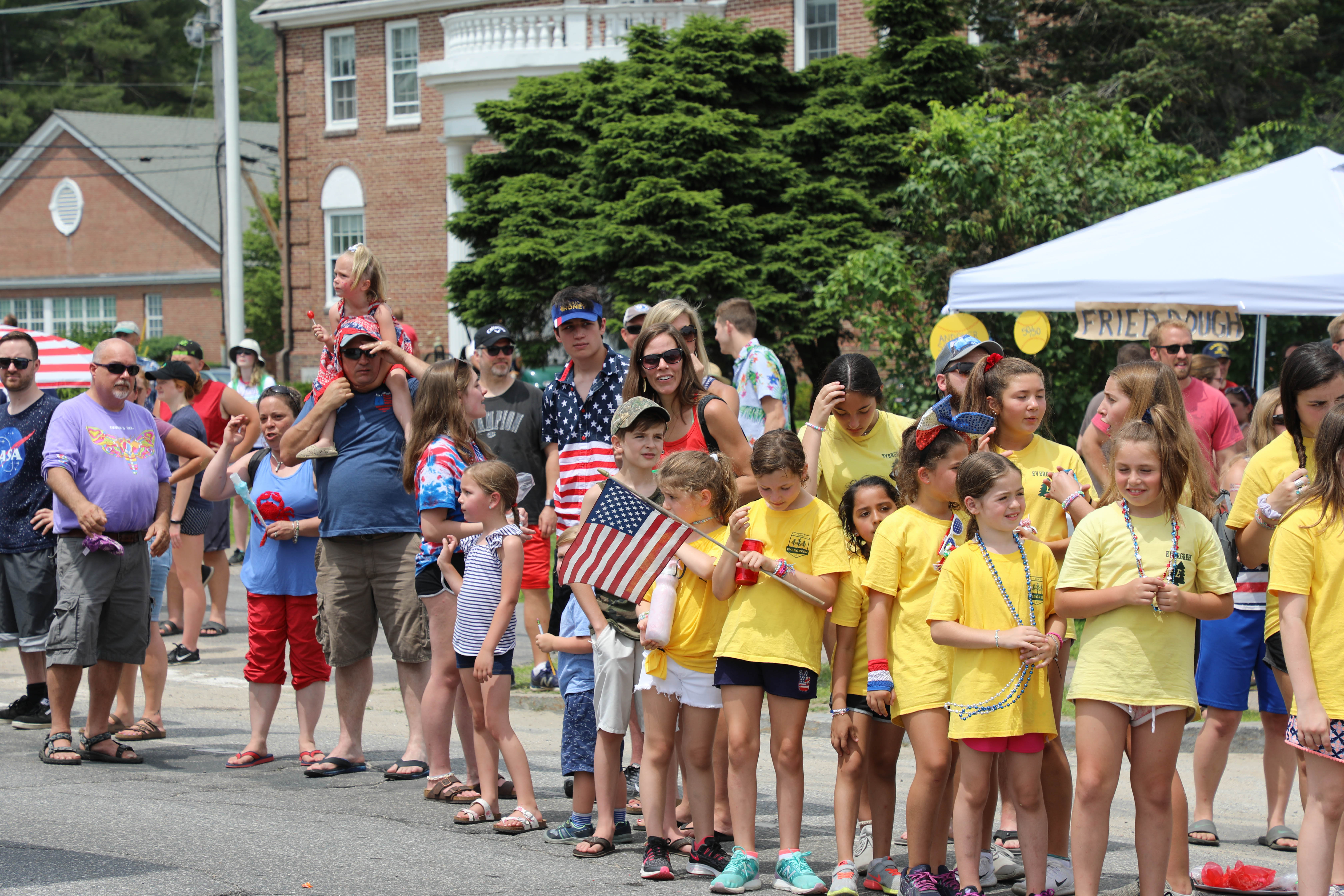 Andover New Hampshire 4th of July Proctor Academy