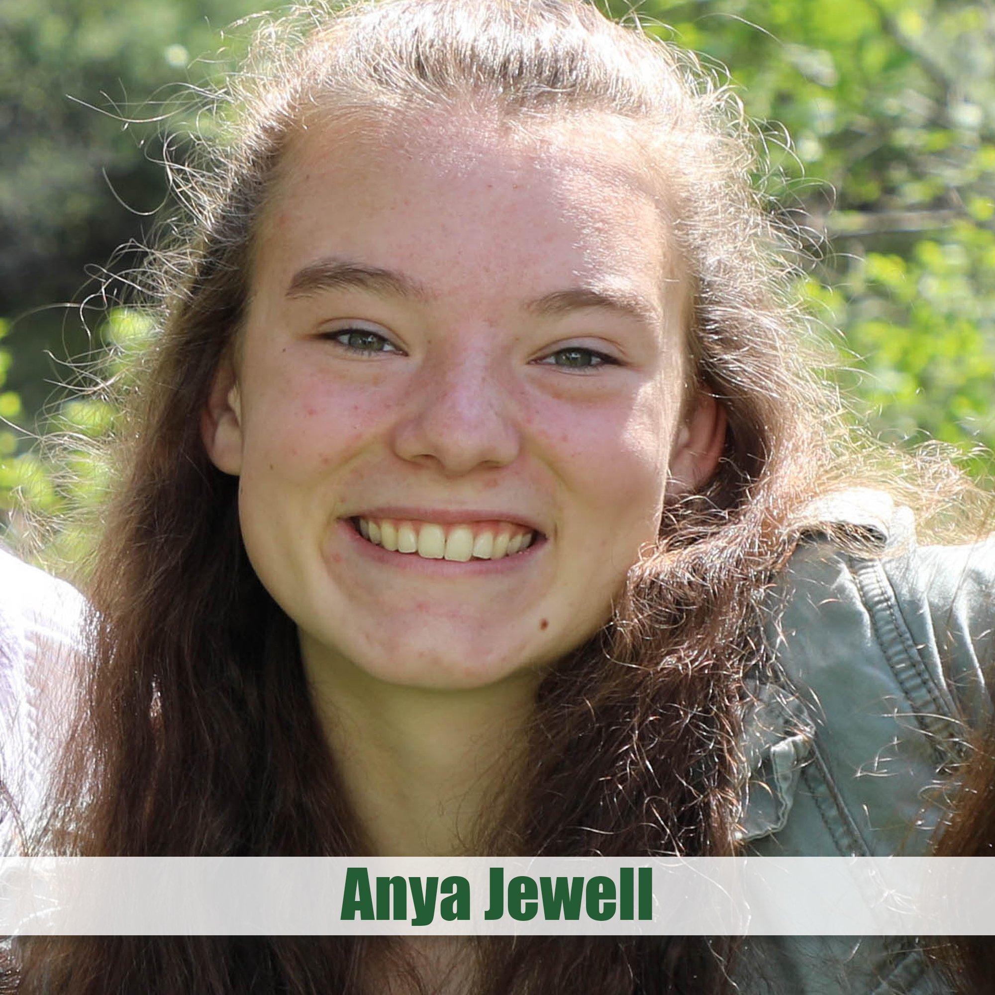 Carl B Wetherell Award - Anya Jewell