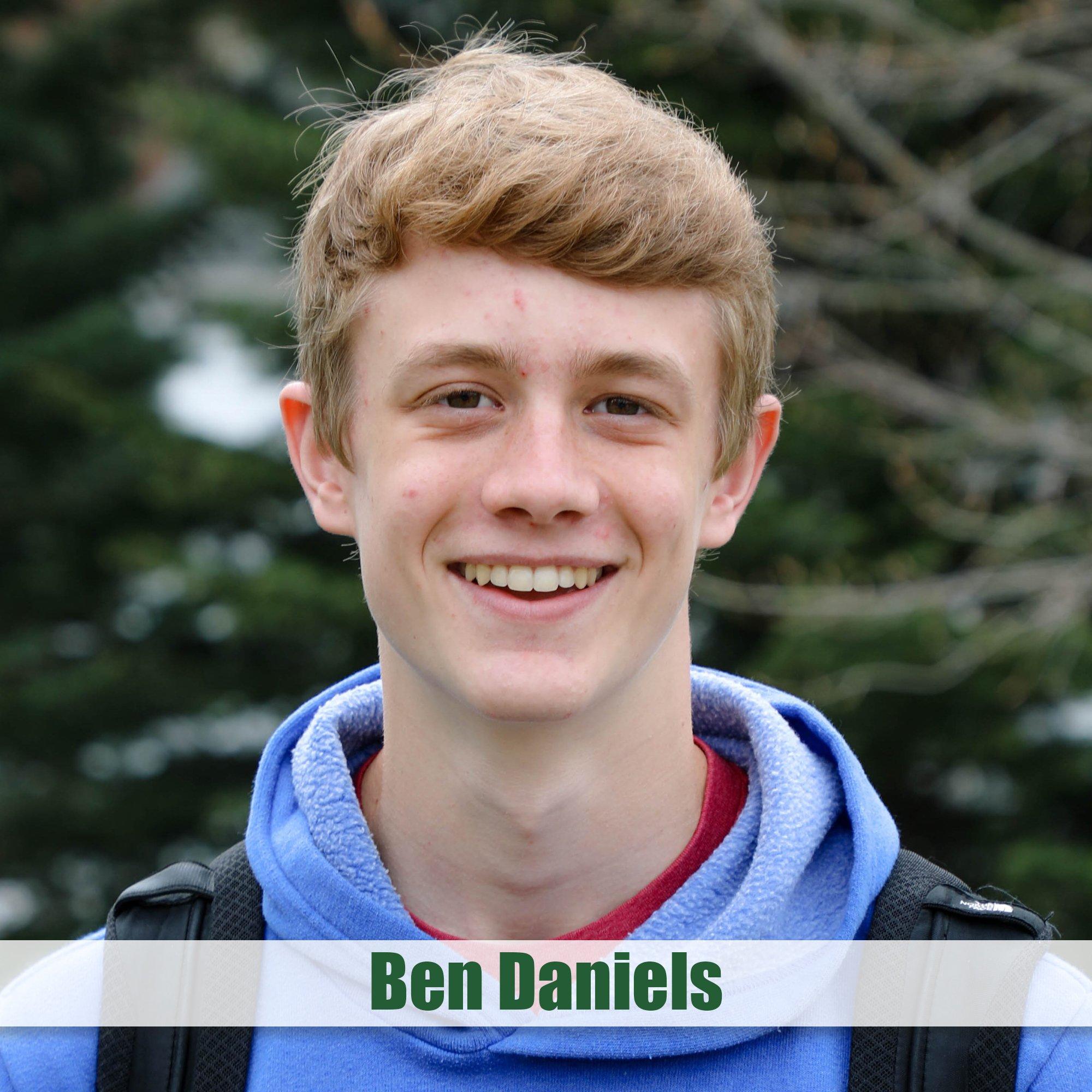 Lyle H. Farrell Award - Ben Daniels