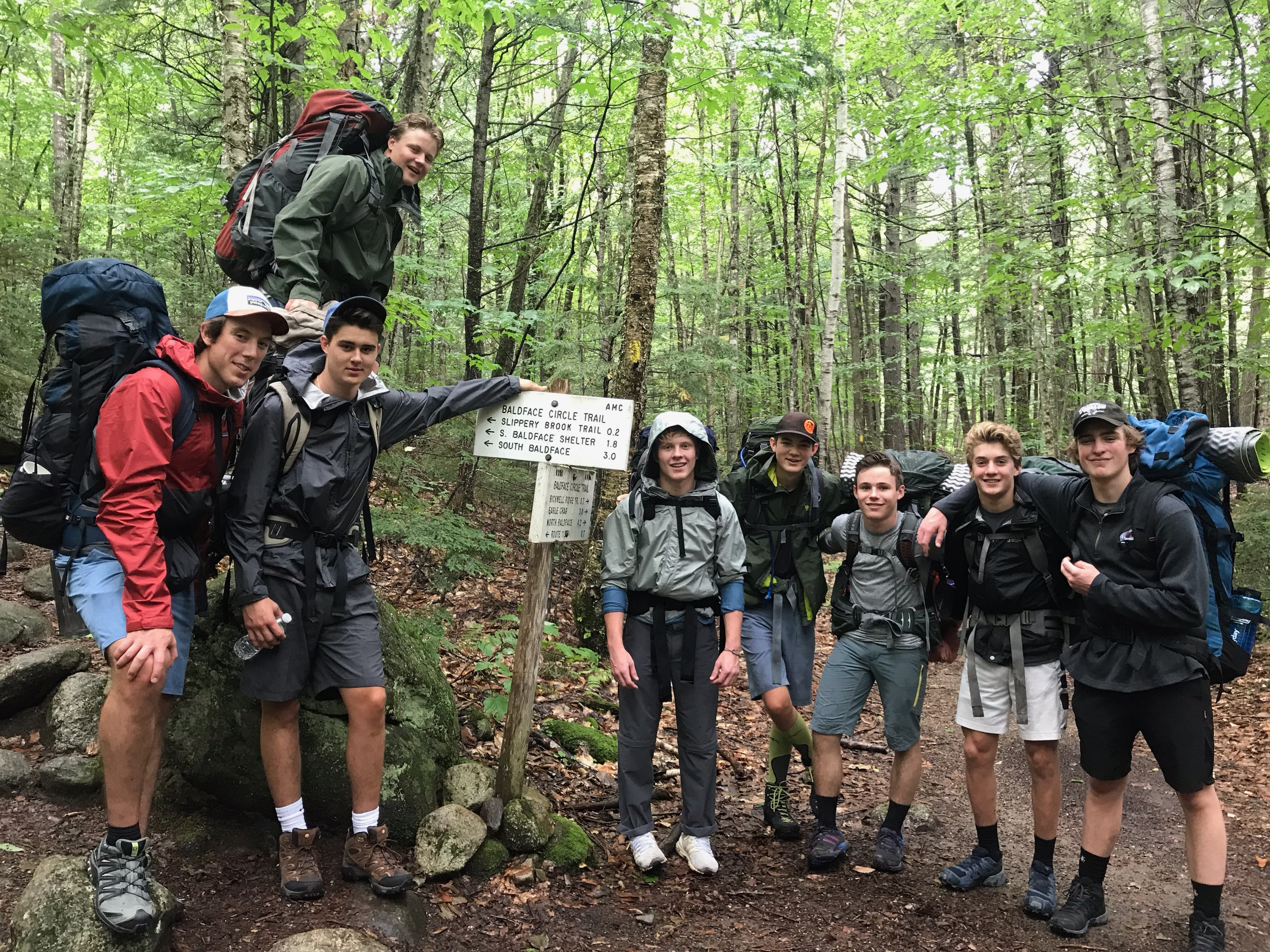 Proctor Academy Boarding School Wilderness Orientation