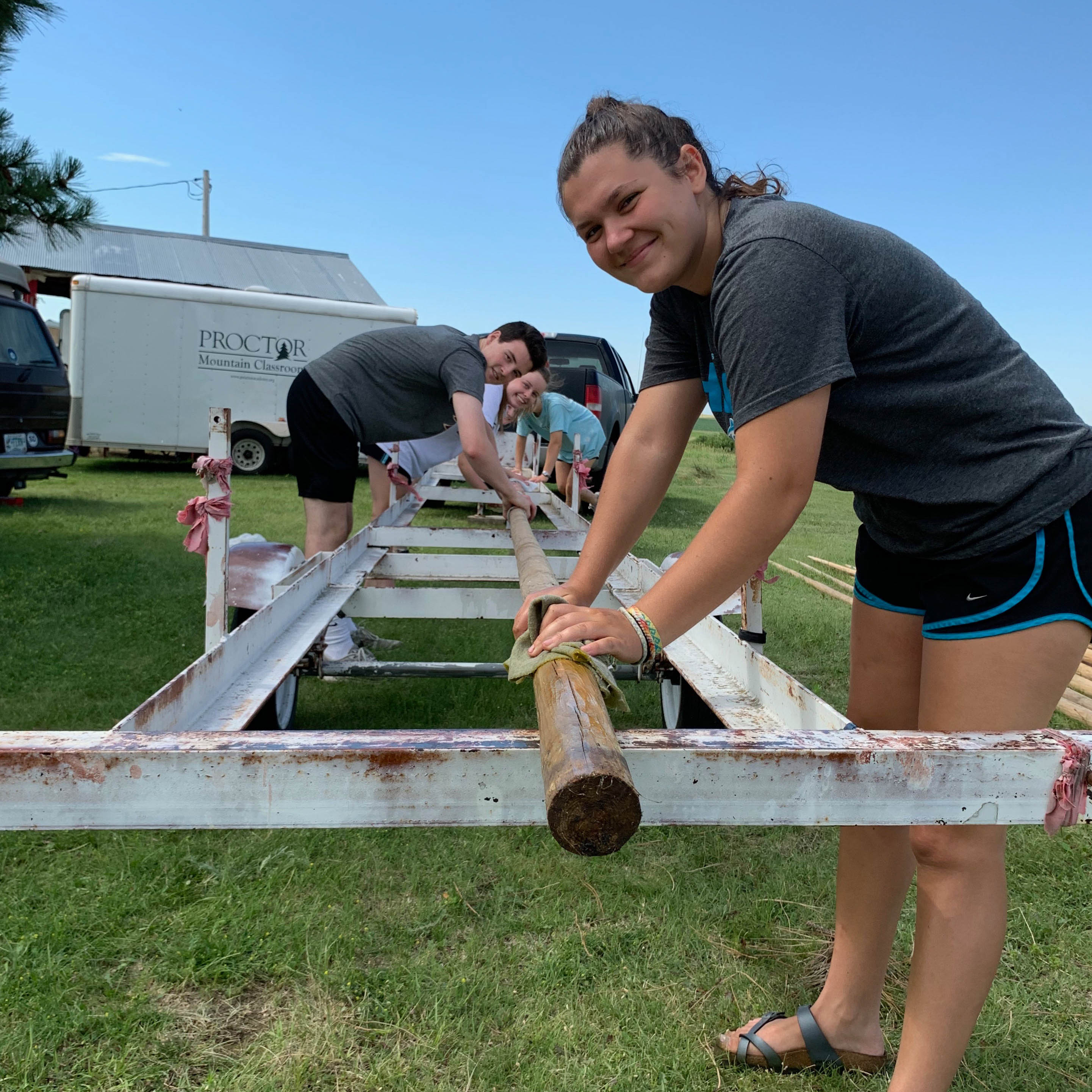Proctor Academy Summer Service Rosebud Lakota Sioux