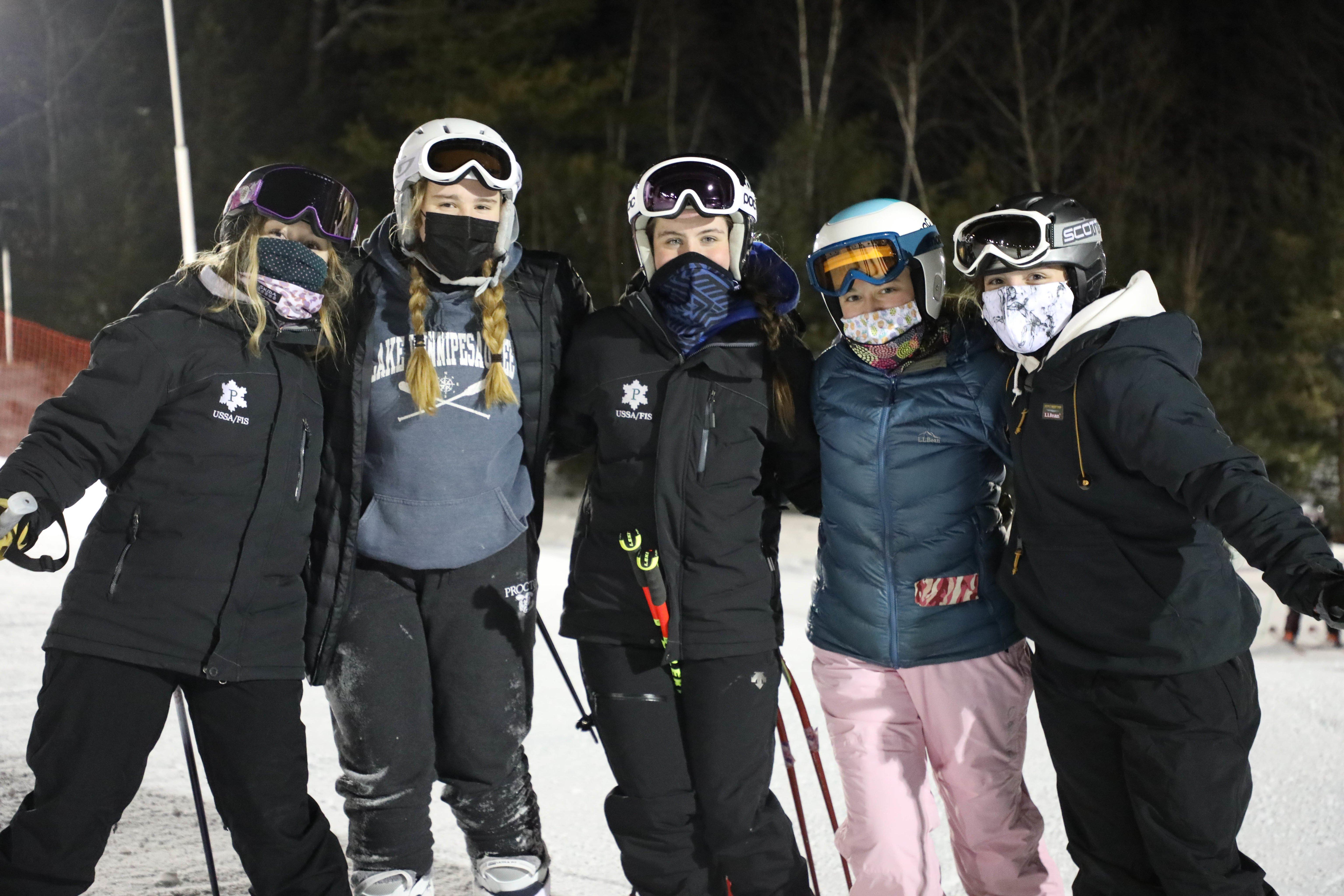 Proctor Academy Ski Area Boarding School Snow Sports Skiing